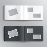 Blank photo album Royalty Free Stock Image