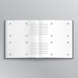 Blank photo album Stock Image
