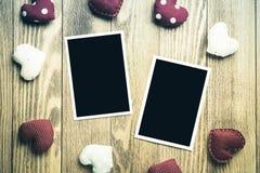 Blank photo card Royalty Free Stock Photos