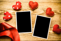 Blank photo card Royalty Free Stock Photo