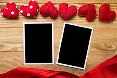 Blank photo card Stock Photography