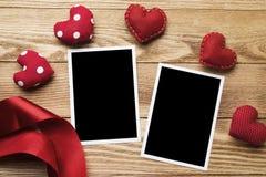 Blank photo card Royalty Free Stock Photography