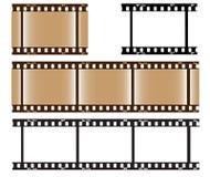 Blank Photo Film Stock Image