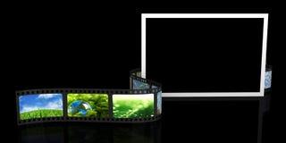 Blank photo and film Stock Photos