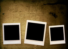 Blank photo frame Royalty Free Stock Photo
