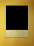 Blank photo frame. Aged album ancient antique backdrop background black royalty free stock photography