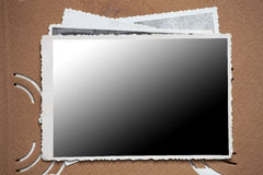 Blank photo frame Stock Photos