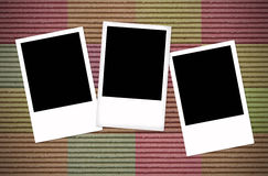 Blank photo frame Royalty Free Stock Photography