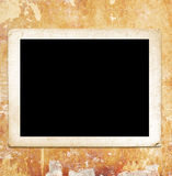 Blank photo frame Stock Image