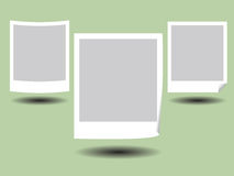Blank Photo Frame. Illustration of Blank Photos Frame with Shadow Stock Photos