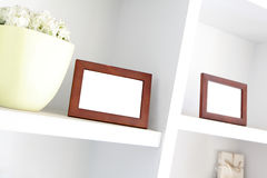 Blank photo frame with copy space Stock Photo
