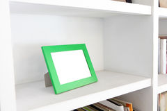 Blank photo frame with copy space Royalty Free Stock Images