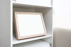 Blank photo frame with copy space Stock Images