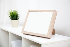 Blank photo frame with copy space Royalty Free Stock Image