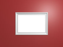 Blank Photo Frame Stock Image