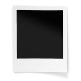 Blank Photo Frame. Isolated on white background. Computer generated image with clipping paths Stock Photography