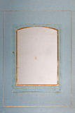 Blank photo frame, side of ancient photo album Royalty Free Stock Photos