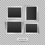 Blank photo frame. Vector illustration, eps 10. Retro vintage style. Place for your text. Royalty Free Stock Images