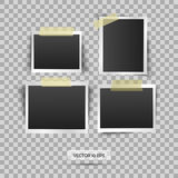 Blank photo frame. Vector illustration, eps 10. Retro vintage style. Place for your text. Stock Photo