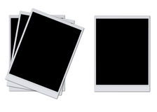 Blank photo frames. Isolated on white background Royalty Free Illustration