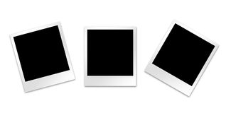 Blank photo frames Royalty Free Stock Images