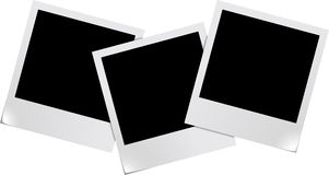 Blank photo frames Stock Photos