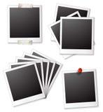 Blank photo frames Stock Photography