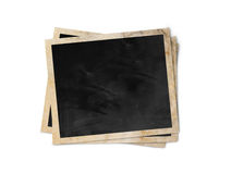 Blank photo frames Stock Image