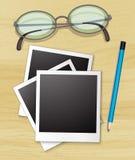 Blank photo Stock Photos