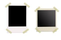 Blank photo isolated Stock Photography