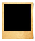 Blank photo  on old paper Royalty Free Stock Photo