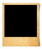 Blank photo on old paper Stock Illustration