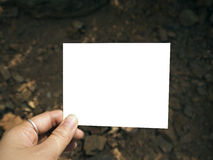 Blank photo Stock Photos