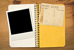 Blank Photo & Postcard Royalty Free Stock Photography