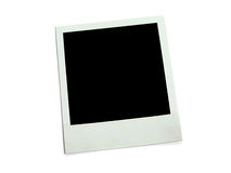 Blank photocard Stock Photography