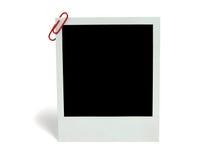 Blank photocard Royalty Free Stock Photography