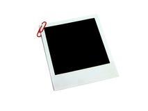 Blank photocard Stock Photo
