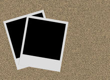 Blank Photographs Stock Photo