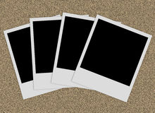 Blank Photographs Stock Photos