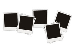 Blank photos Stock Photo