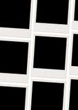 Blank Photos. Three rows of blank photos Royalty Free Stock Photography