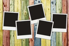 Blank photos Royalty Free Stock Photography