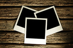 Blank photos Stock Photography