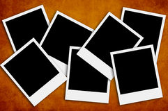 Blank photos Royalty Free Stock Photography