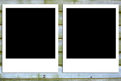 Blank Photos Stock Image