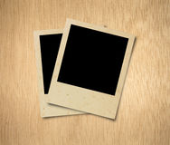 Blank photos frames Royalty Free Stock Photo