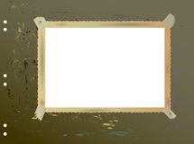 Blank picture frame Stock Photography