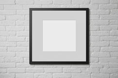 Free Blank Picture Frame Royalty Free Stock Photography - 43692927