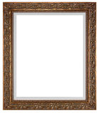 Blank picture frame. On white Stock Image