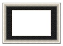 Blank picture frame with photo mount Stock Photo